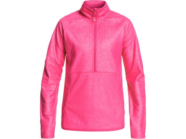 Roxy Cascade Jacket Women beetroot pink risingpeak embos